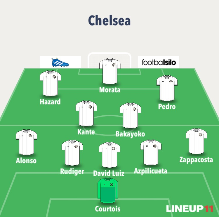 chelsea line up 3
