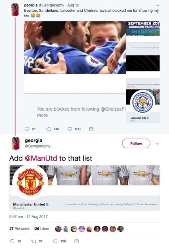 Georgiaraphy blocked by Man Utd