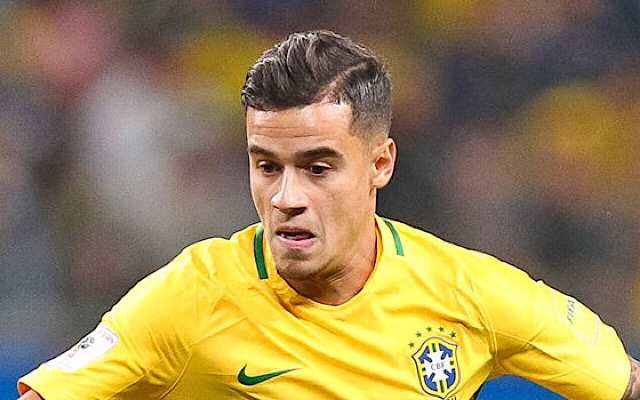 Liverpool's Coutinho. Germany vs Brazil TV channel