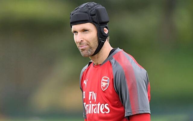 Arsenal veteran Petr Cech