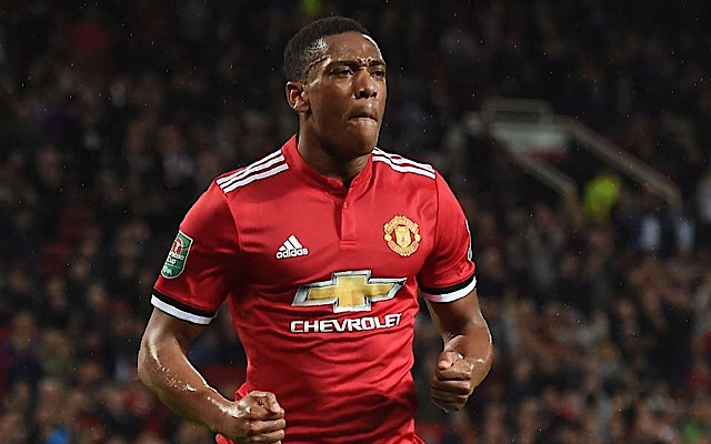 Man Utd's Anthony Martial