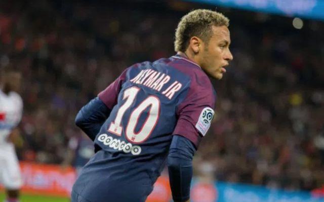 Neymar in action for PSG