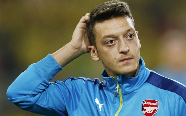 Confused Mesut Ozil