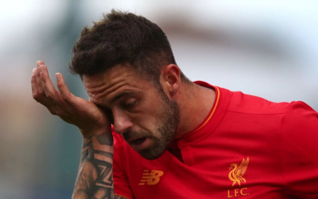 Danny Ings crying