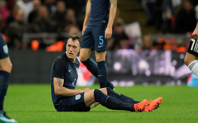 Jones England injury