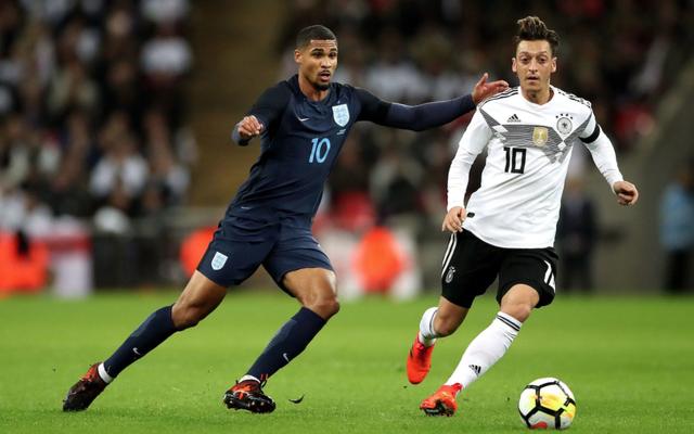 Ozil Germany vs England