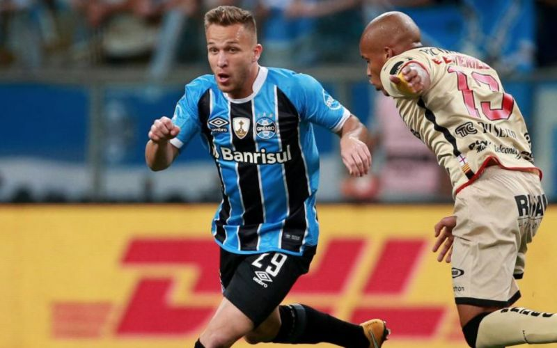 21-year-old Brazilian Arthur Melo has caught the eyes of Europe's elite clubs