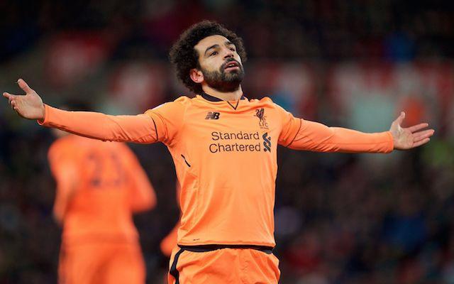 Mo Salah vs Stoke city