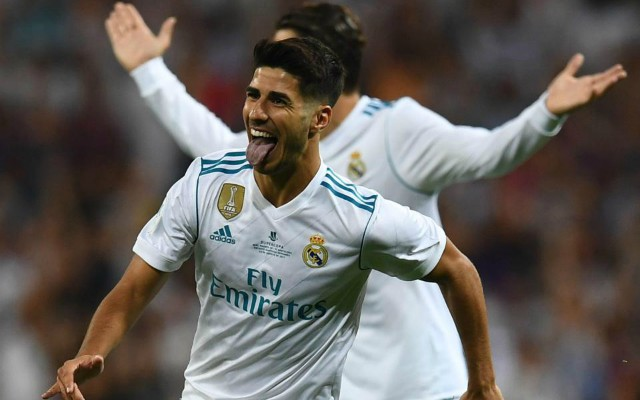 Real Madrid star Marco Asensio