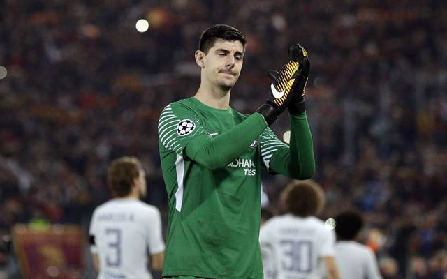Thibaut Courtois after Chelsea's loss to Roma