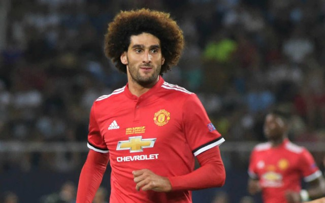 fellaini man united