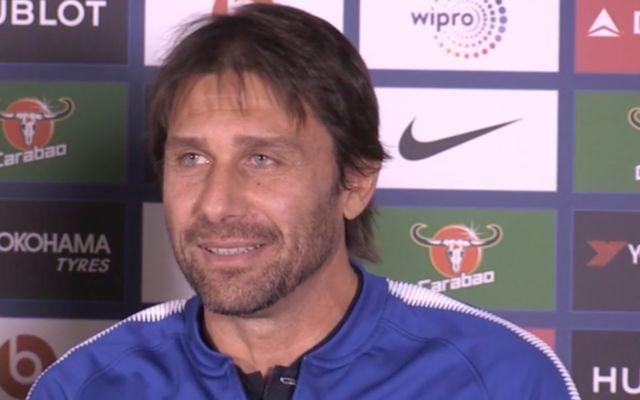 Antonio Conte showing off his new beard