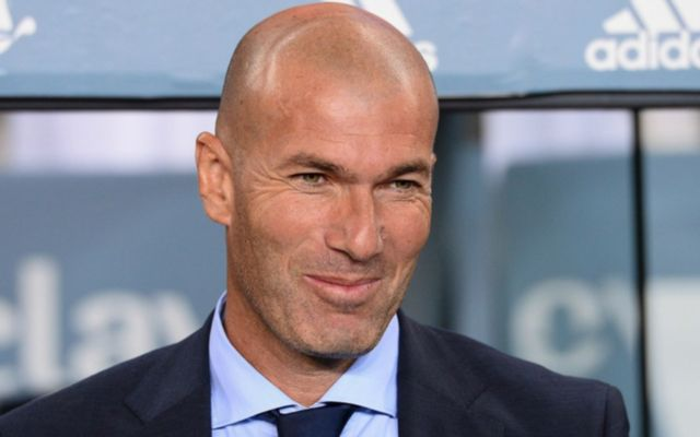 Real madrid's Zinedine Zidane