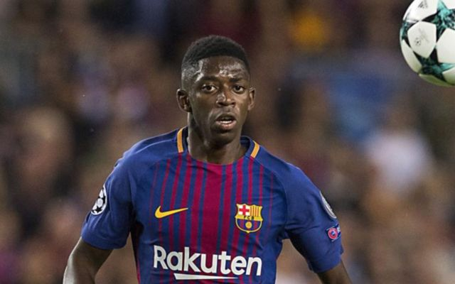 Barcelona To Swap Dembele Due To Continuous Injury