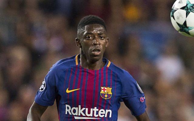 Barcelona ace Ousmane Dembele