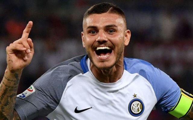 Inter Milan's Mauro Icardi