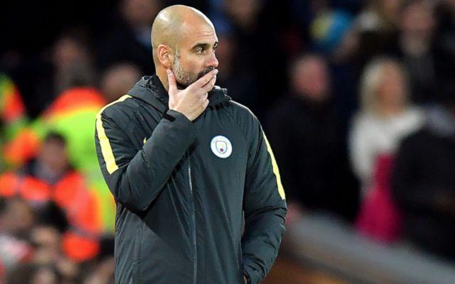 Man City's Pep Guardiola