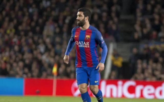 Barcelona midfielder Arda Turan