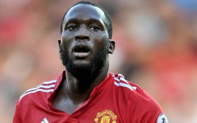 Man United forward Romelu Lukaku