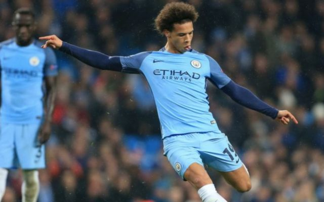 Man City ace Leroy Sane