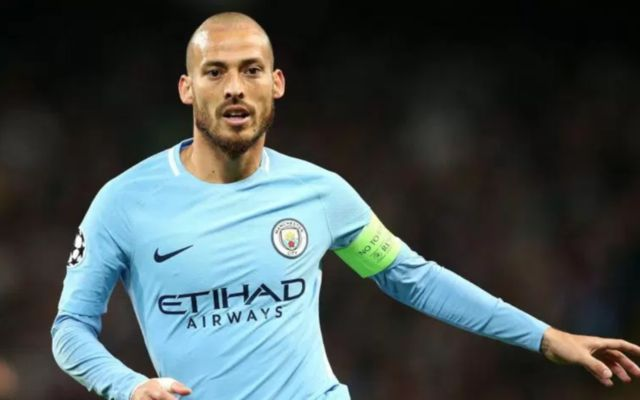 Man City ace David Silva