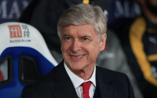 Arsena manager Arsene Wenger