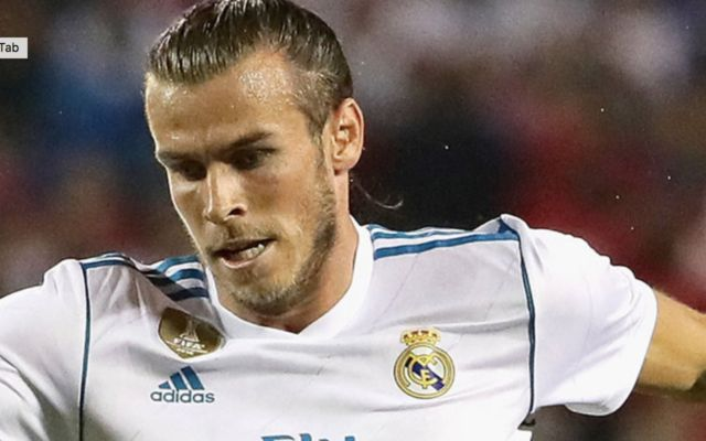 Real madrid winger Gareth Bale