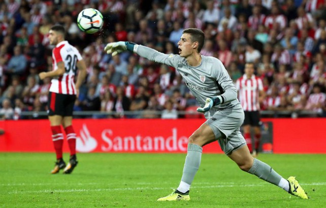 Kepa in action for Athletic Bilbao