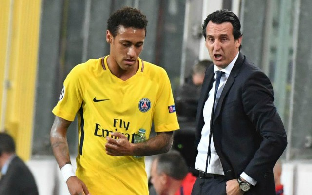 Neymar and PSG manager Unai Emery. Next PSG manager odds: Who is the favourite as Unai Emery announces departure?