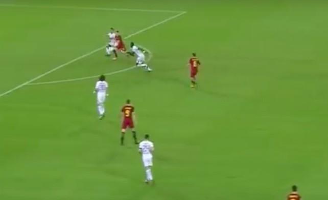Rudiger mistake vs Roma
