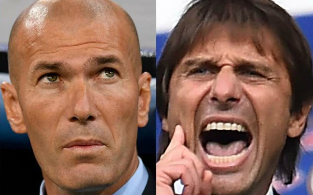 Zidane and Conte