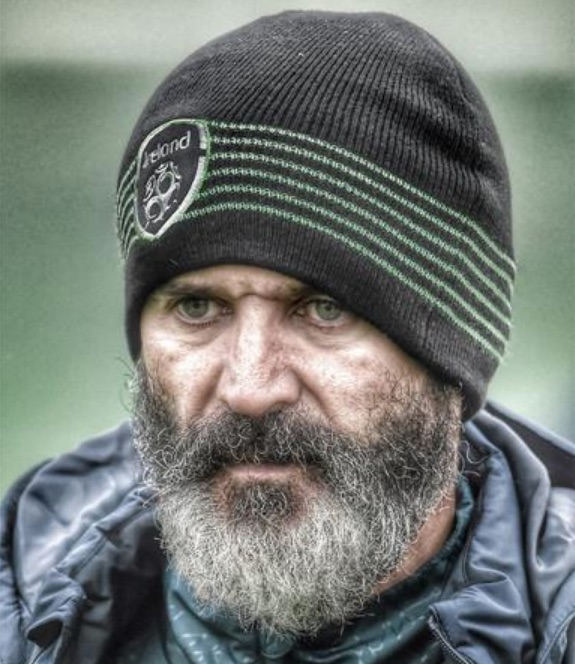 Beardy Roy Keane would make an excellent Hook in Peter Pan