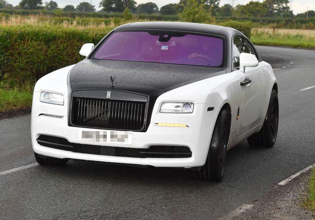 Lukaku Rolls Royce