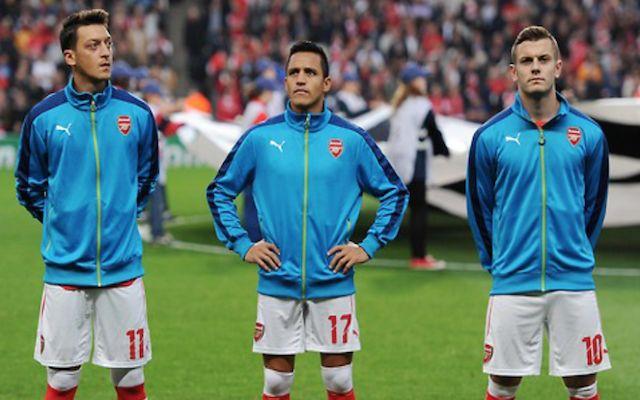 Wilshere, Ozil, Sanchez