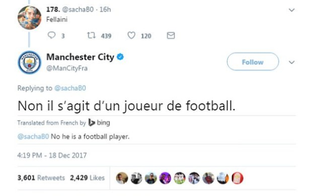 city tweet fellaini