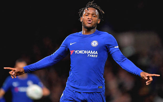 Chelsea forward Michy Batshuayi