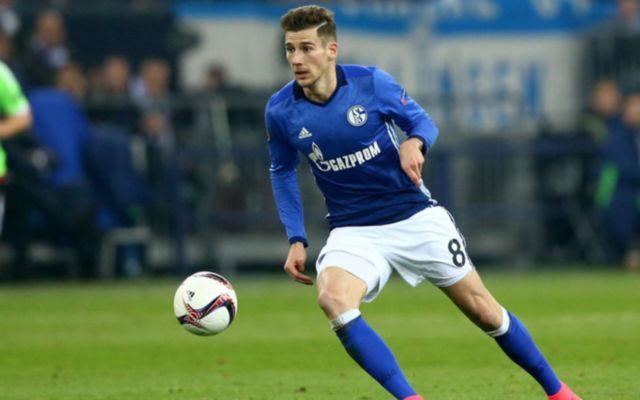 Schalke midfielder Leon Goretzka