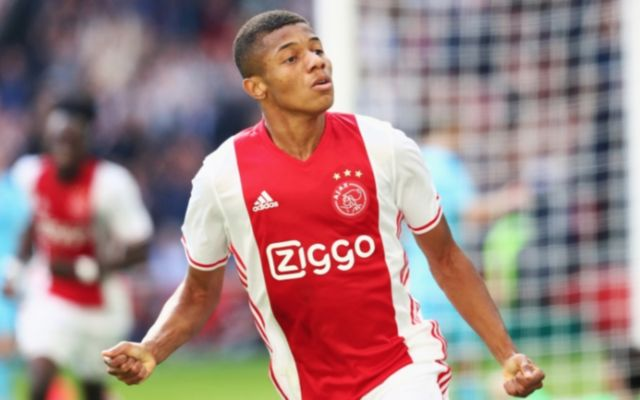Ajax's David Neres