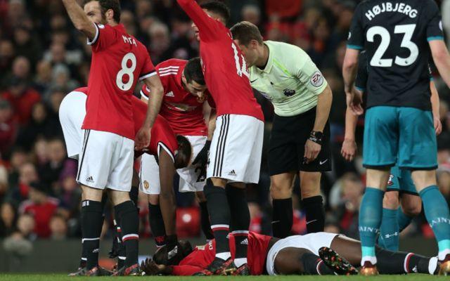 Man united ace Romelu Lukaku's injury