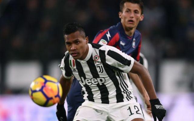 Juventus' Alex Sandro