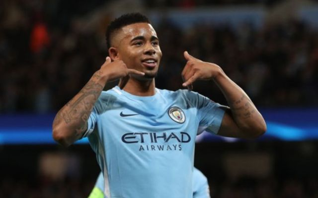 Man City's Gabriel Jesus