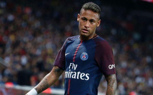 PSG's winger Neymar