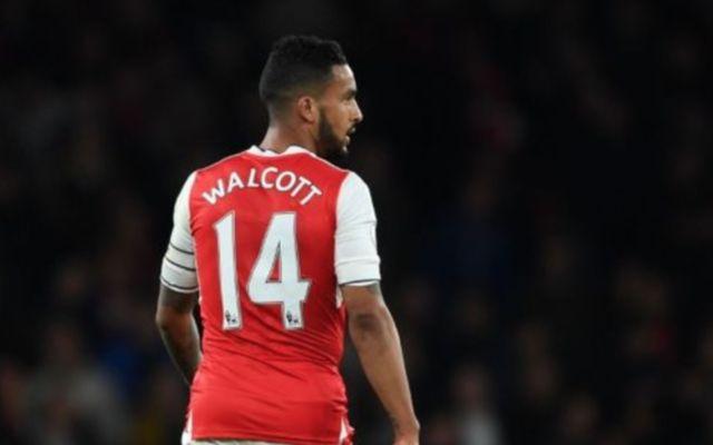 Arsenal ace Theo Walcott