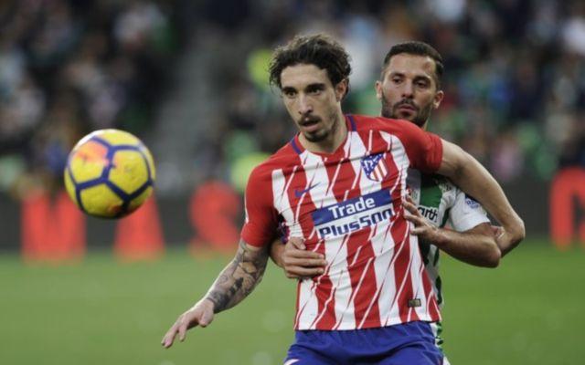 Atletico Madrid's Sime Vrsaljko