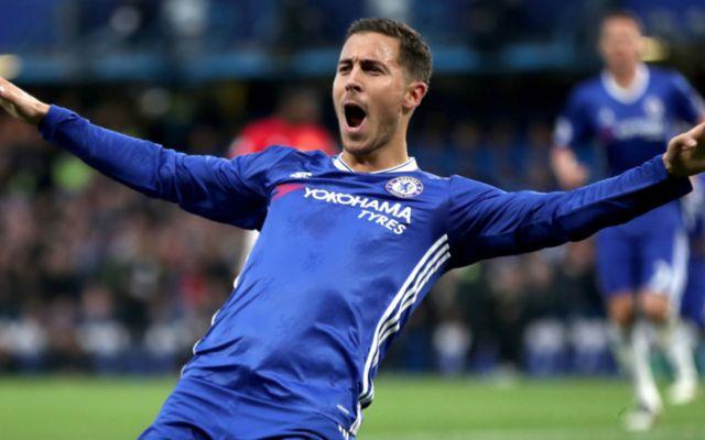 Chelsea ace Eden Hazard