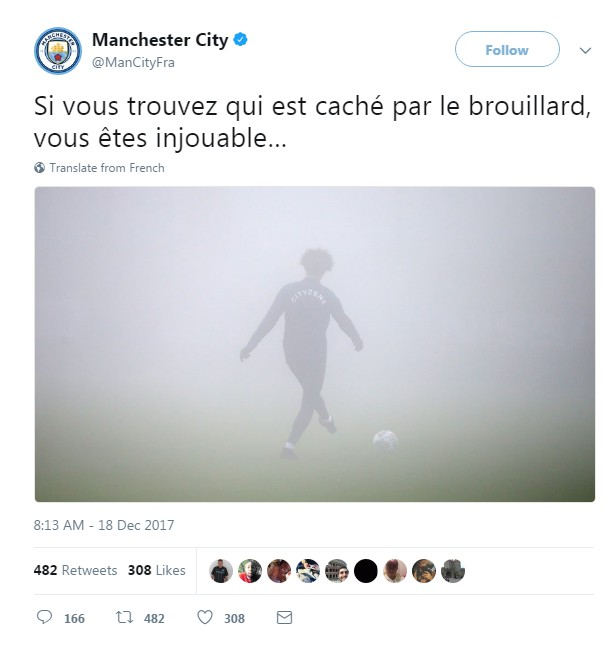 man city fellaini tweet