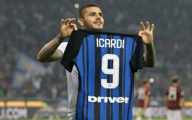 mauro icardi inter milan. top 10 forwards in Europe's top 5 leagues