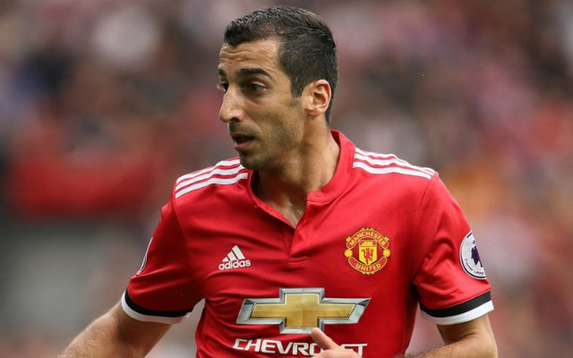 mkhitaryan man united