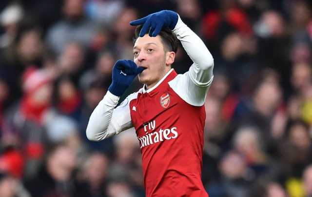 ozil arsenal v newcastle