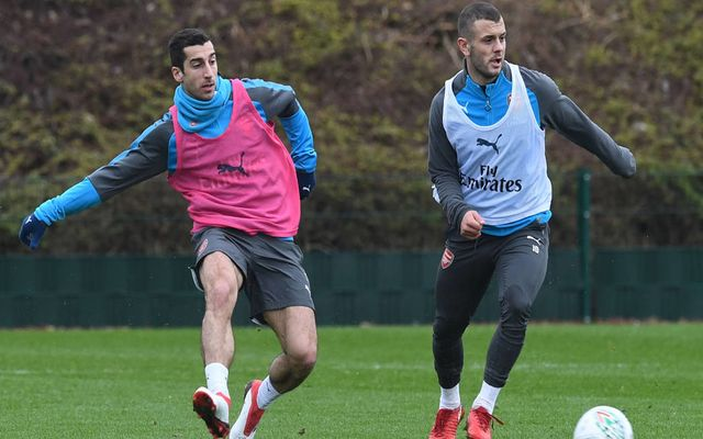official photos d8e24 9aee8 Arsenal confirm Henrikh Mkhitaryan shirt number